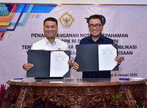 BPK Jalin Kerja Sama dengan TVRI untuk Edukasi Masyarakat