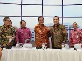 Pimpinan BPK Terima Kunjungan Komisioner KPK