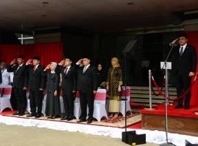 Ketua BPK Pimpin Upacara HUT BPK Ke-73