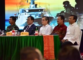 Pimpinan Pemeriksaan Keuangan Negara I Menghadiri Rapim Kementerian Pertahanan Tahun 2020