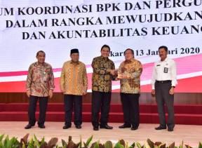 BPK MendorongTerwujudnya Transparansi dan Akuntabilitas di Lingkungan PTN dan PTNBH