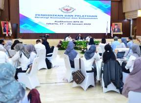Tingkatkan Kompetensi Humas, BPK Selenggarakan Diklat Strategi Komunikasi dan Kehumasan