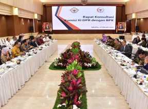 BPK dan Komisi XI Gelar Pertemuan Bahas Hasil Pemeriksaan