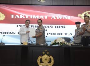 Pimpin Entry Meeting, Anggota I BPK Harap Polri Beri Akses Tim Pemeriksa