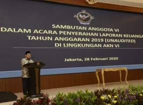 Anggota VI BPK : Kementerian/Lembaga Wajib Menindaklanjuti Rekomendasi BPK
