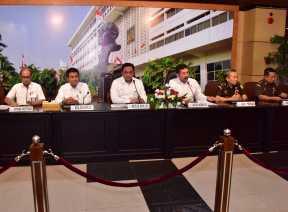 BPK dan Kejagung Gelar Konferensi Pers Terkait Jiwasraya