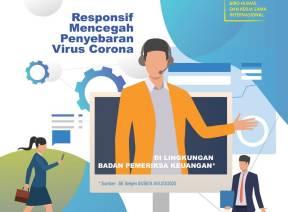 Bekerja Dari Rumah, BPK Dukung Pemerintah Cegah Penyebaran COVID-19