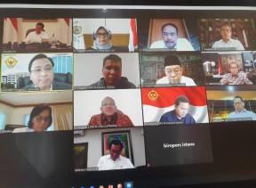 Melalui Teleconference, BPK dan Pemerintah Bahas Perubahan Pelaksanaan APBN 2020