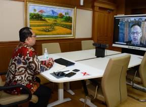 Wakil Ketua BPK Adakan Video Conference Dengan United Nations (UN) Resident Coordinator Indonesia Bahas Isu Terkini Terkait SDGs dan COVID 19 di Indonesia