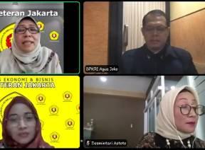 BPK Paparkan Tantangan Realisasi Penyerapan Anggaran pada Webinar UPN Veteran Jakarta