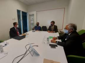 Wakil Ketua BPK Bertemu dengan Under Secretary General for the Office of Internal Oversight Services PBB