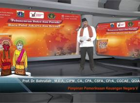 Anggota V BPK Hadiri Peluncuran Buku dan Parade Baca Puisi Jakarta dan Betawi
