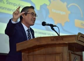 Anggota I BPK Paparkan Akuntabilitas Pengelolaan Keuangan Negara dalam Kuliah Umum Politeknik Siber dan Sandi Negara
