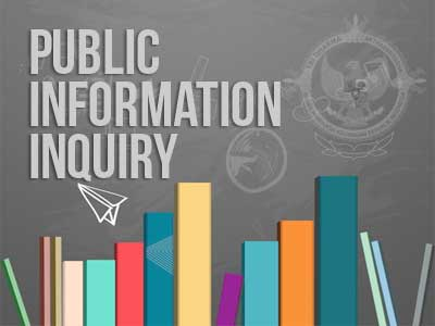 The Form of Public Information Inquiry